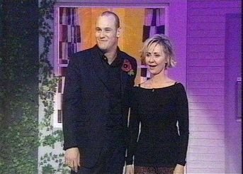 Lulu with co-host Terry Alderton